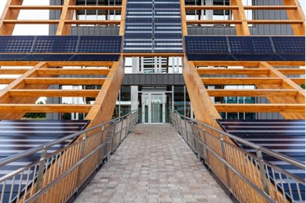 Figura 20. Fotografía paneles fotovoltaicos.