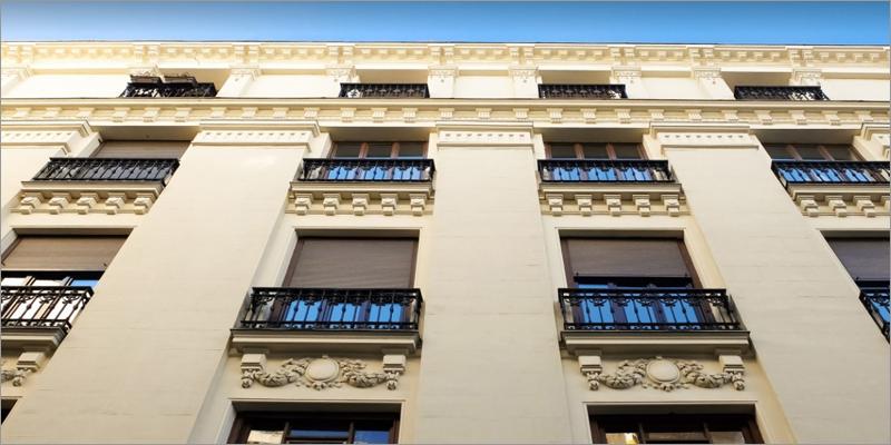 fachada edificio en madrid