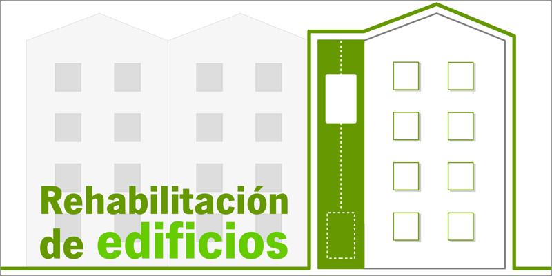 infografía sobre rehabilitación edificios