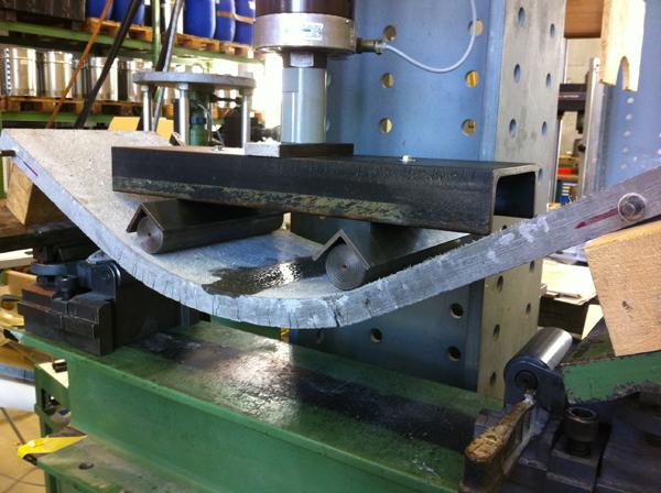 fabricación con hormigón