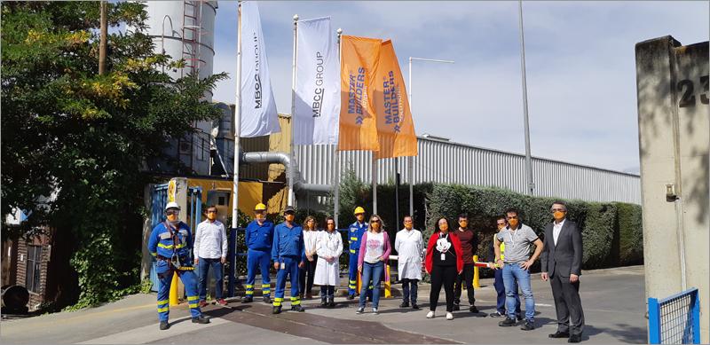 equipo de Master Builders Solutions España S.LU