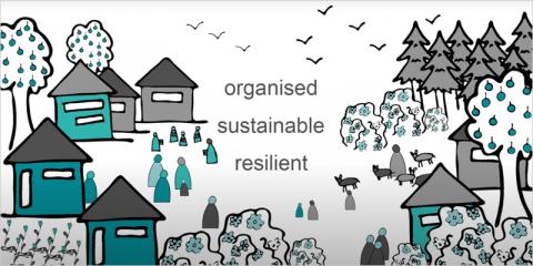 QSAND, iniciativa para la reconstrucción de viviendas
