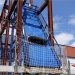 El servicio de ensayos dinámicos de Tecnalia evalúa los sistemas de redes de seguridad en obras