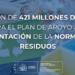 Primer paquete del Plan de Recuperación con inversiones en materia de residuos y economía circular