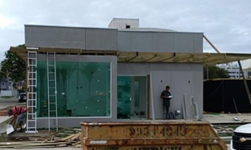 Vista exterior edificio.