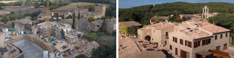 antes y después de las obras