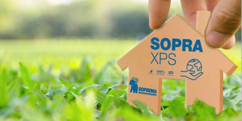 Nuevo aislamiento térmico SOPRA XPS de poliestireno extruido 100% reciclado
