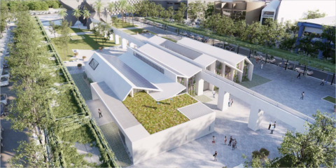 CartujaQanat, proyecto de transformación urbana sostenible de Sevilla con arquitectura bioclimática