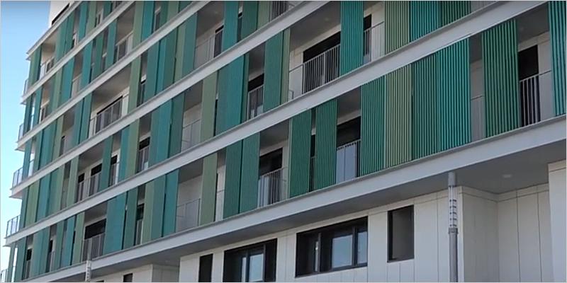 viviendas VPO construidas en Erripagaña en un ECCN