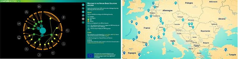 SBN y mapa de casos reales