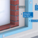 El sistema SATE Danotherm mejora la eficiencia energética del edificio y reduce su consumo