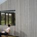Cabañas y cobertizos sostenibles con la madera termotratada Luna Pre-Greyed de Lunawood