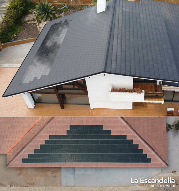 sistema fotovoltaico Planum de La Escandella