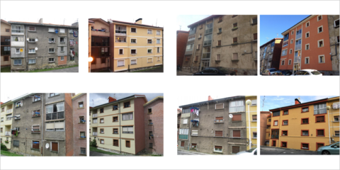 Finaliza el 45% de las obras de rehabilitación energética en el barrio de Zazpilanda, en Bilbao