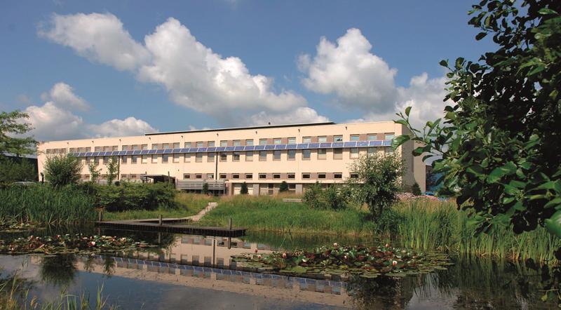 Sede EMEA de Interface en Scherpenzeel, Países Bajos.
