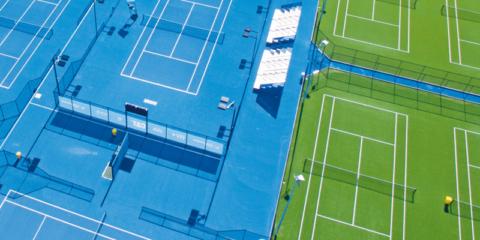 Guía sobre soluciones constructivas de Mapei para la reparación de pistas polideportivas