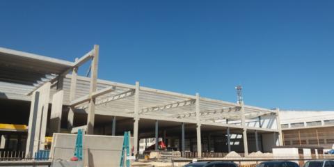 El sellado de juntas de Quilosa garantiza la estanqueidad de una fachada prefabricada de hormigón