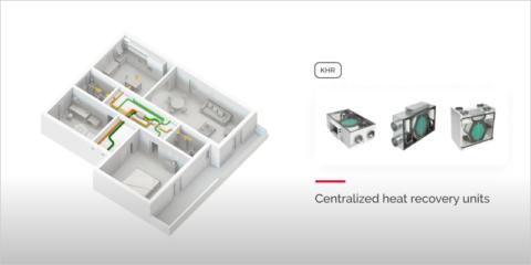 Sistemas Giacomini de ventilación mecánica controlada