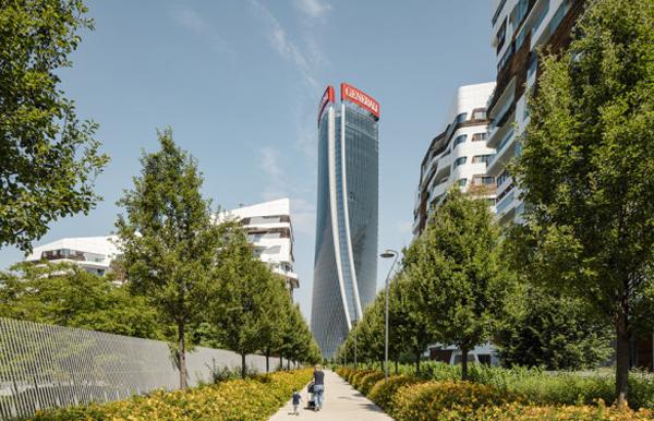 torre Generali en Milán