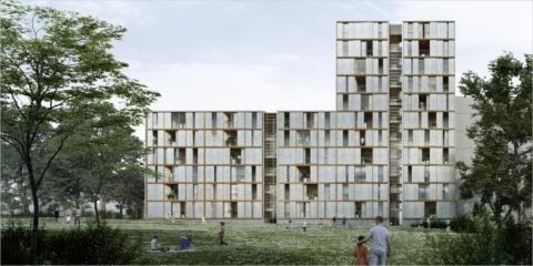 Adjudicado el proyecto de construcción industrializada de dos edificios sostenibles en Barcelona