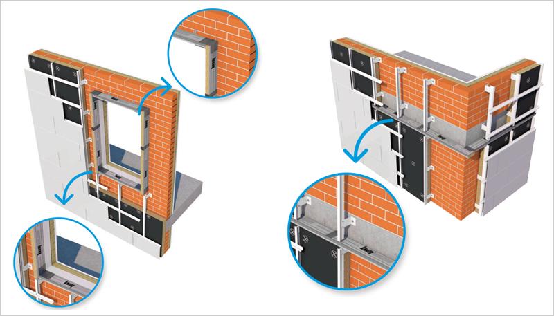 Detalle del sistema de barreras cortafuego