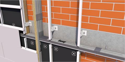 Solución de barreras cortafuegos de lana mineral de roca para fachadas ventiladas de Knauf Insulation