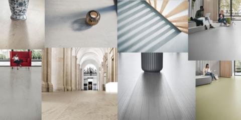 Reconocimiento internacional de los revestimientos de caucho nora by Interface por su calidad en el diseño