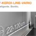 Drenaje lineal para duchas de obra Schlüter-KERDI-LINE-VARIO