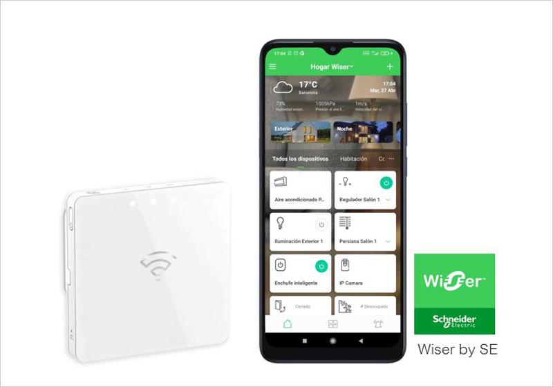 aplicación Wiser by SE
