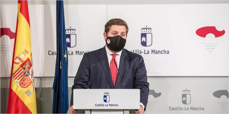 El consejero de Fomento, Nacho Hernando,