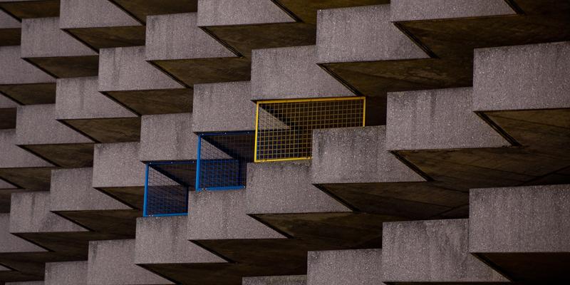 estructura de edificio de hormigón