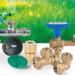 Nuevas soluciones de válvulas y accesorios de la gama de jardinería de la compañía Genebre