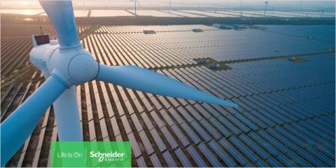 Las fábricas y centros de distribución de Schneider Electric en España utilizan energía 100% renovable