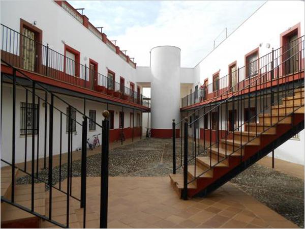 escaleras en edificio en Andalucía