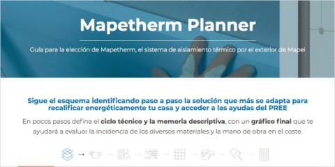 Nueva 'Guía para la elección de Mapetherm', el aislamiento térmico por el exterior de Mapei