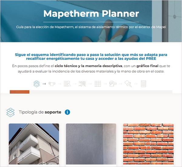 Guía para la elección de Mapetherm', el aislamiento térmico por el exterior de Mapei