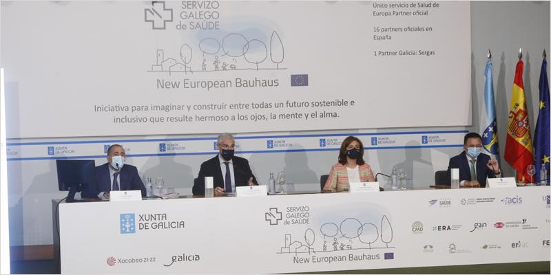 La Xunta de Galicia participa en la Nueva Bauhaus Europea