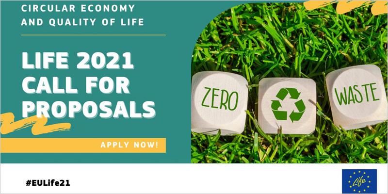 primera convocatoria de propuestas LIFE 2021