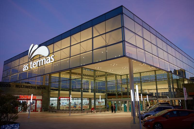 El centro comercial As Termas