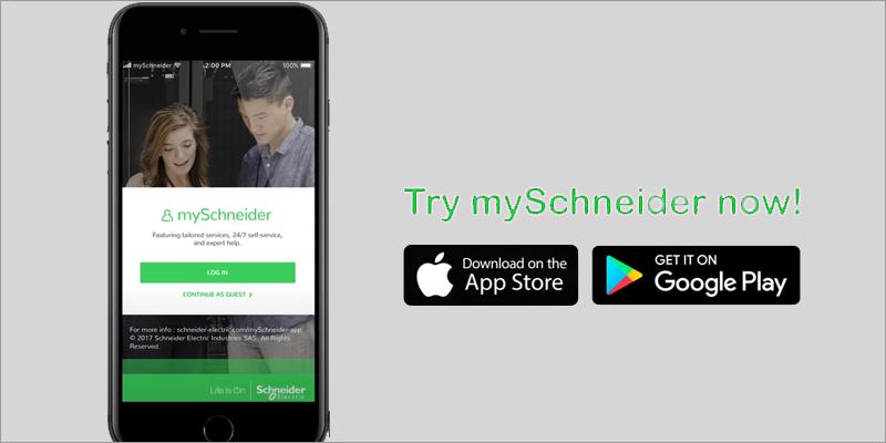 myschneider app