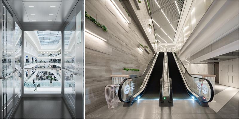 escaleras y ascensores de schindler