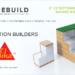 Sostenibilidad, construcción industrializada y Klave, los tres pilares de Sika en Rebuild 2021