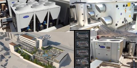 Los equipos de climatización y ventilación de Carrier aumentan la eficiencia energética del hotel El Mirador en Loja