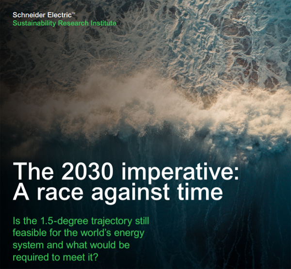 The 2030 imperative: A race against time