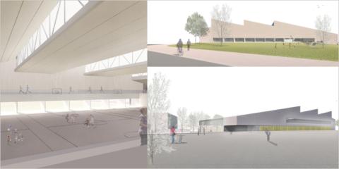 El nuevo polideportivo público de Pamplona será un edificio sostenible de bajo consumo energético