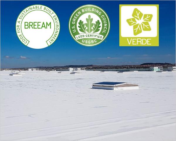 certificaciones BREEAM, LEED y VERDE para everguard de bmi